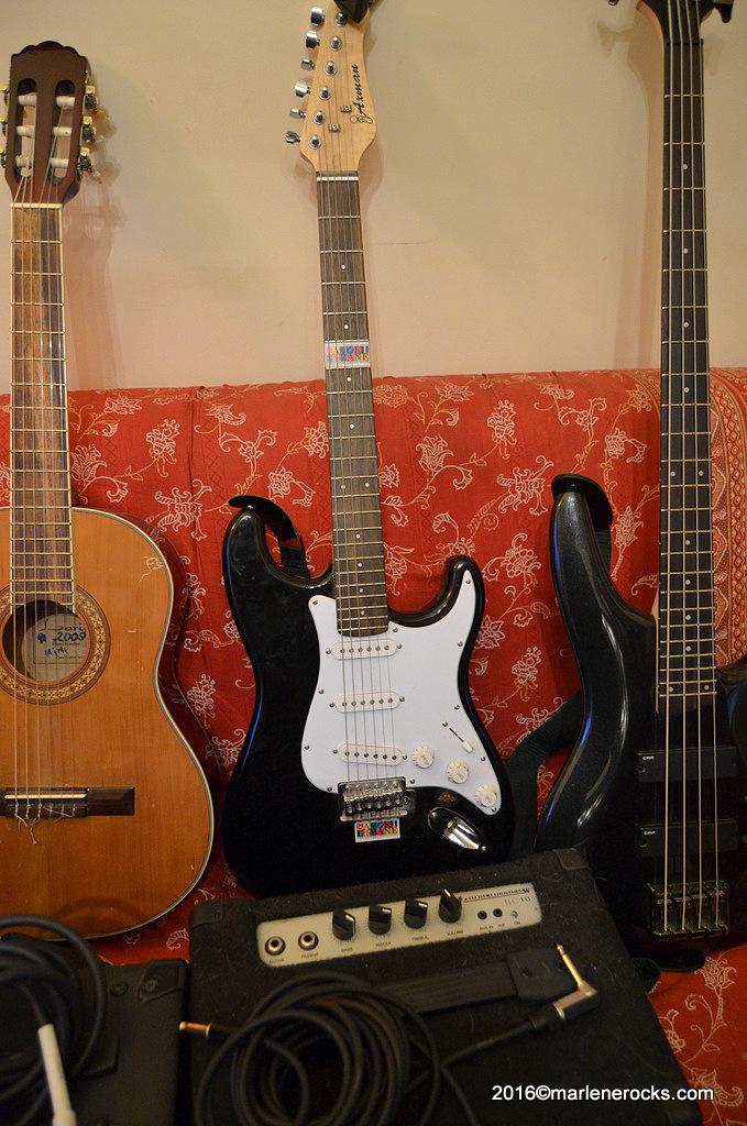 Axman electric guitar