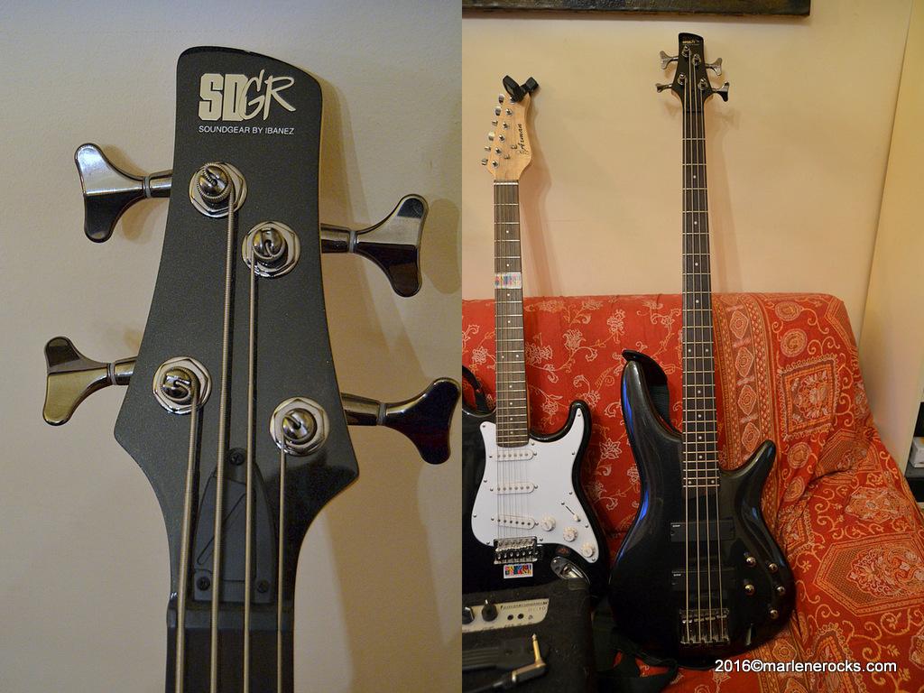 Bass Ibanez SDGR Marlene Rocks