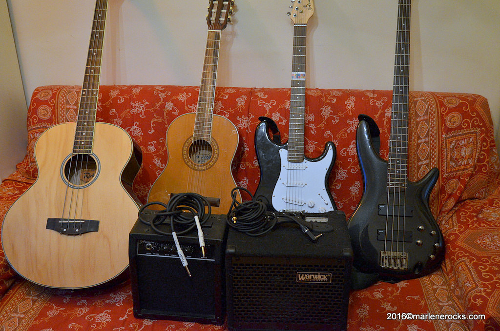 My gear – bass, guitars, amps